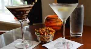Grand Floridian Mizners Lounge godiva Chocolate Martini and Nolets Gin Martini Cocktails Monorail Crawl 2 fb crop
