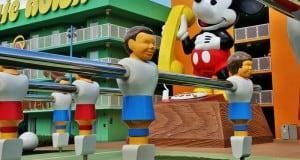 Mickey Phone and Foose Ball Game, Pop Century Resort, Walt Disney World