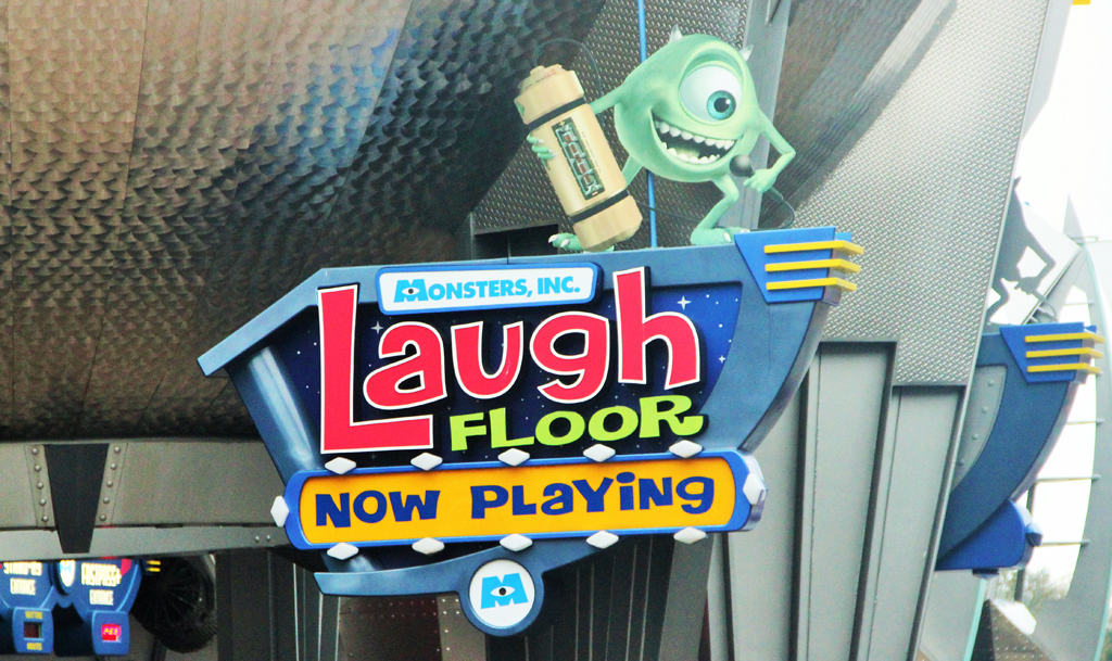 Monsters Inc Laugh Floor A Live Comedy Show From
