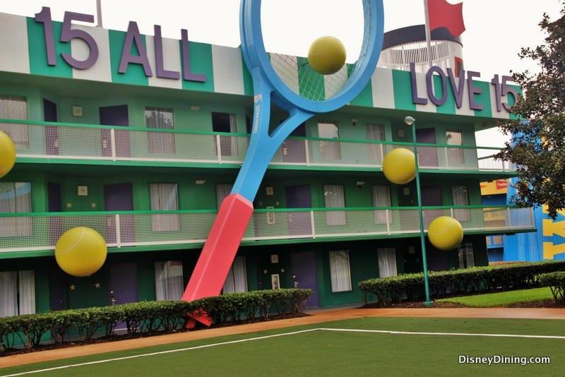 All star movie resort buildingd