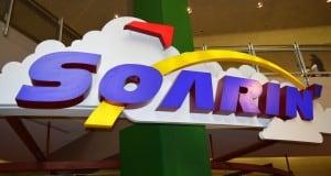Epcot Soarin Indoor Sign 2