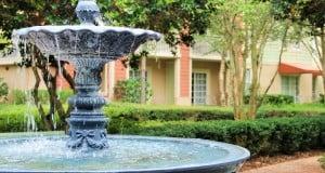 fountain, Disney's Saratoga Springs Resort, Walt Disney World