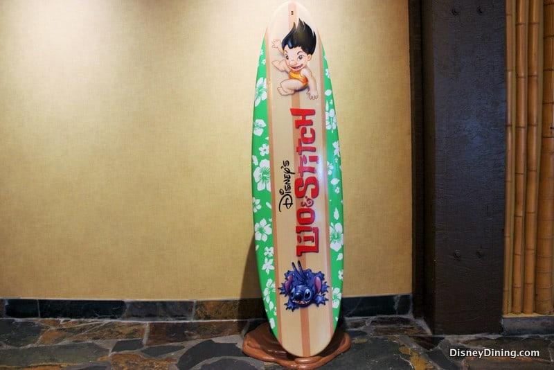 Lilo And Stitch Surfboard Photo Op Disney S Polynesian
