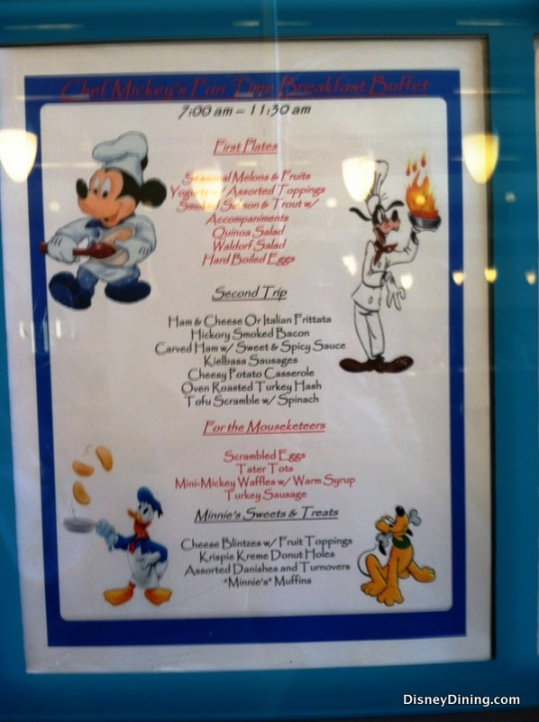 Disney Dining Review For Chef Mickey S Breakfast At Disney S Contemporary Resort