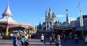 Magic Kingdom Fantasyland Castle Carousel 2