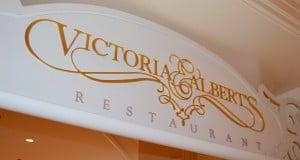 Victoria and Albert's Sign