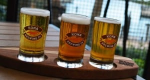 Trader Sam's Beer Flight