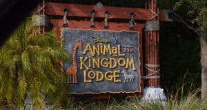 Animal Kingdom Lodge Sign Front Gate Entrance 3