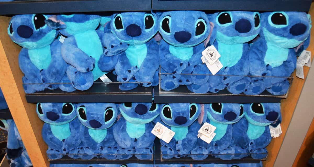 All-Star Movies Gift Shop Stitch Dolls Stuffed Animals Souvenirs Plush fb crop