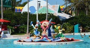 All-Star Music Three Caballeros Pool 4