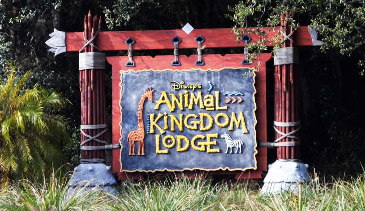 Animal Kingdom Lodge Sign Front Gate Entrance 1 fb crop