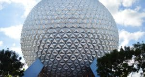 Epcot Spaceship Earth Globe