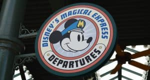 Port Orleans French Quarter Magical Express Departures Sign 1