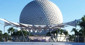 Undiscovered Future World Epcot Spaceship Earth