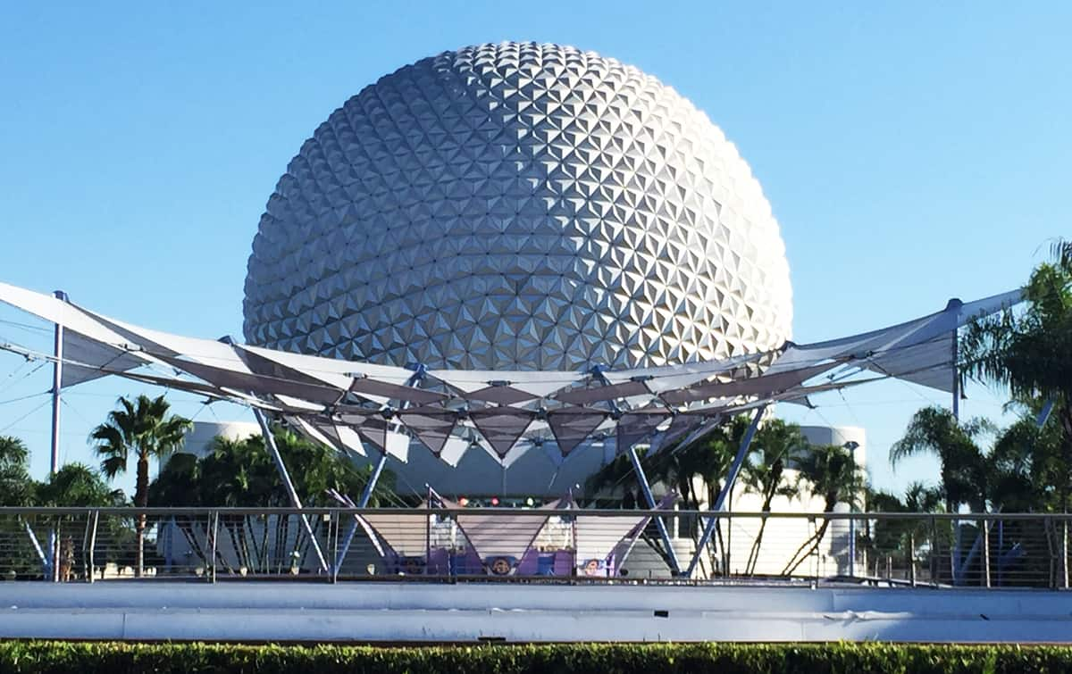 Undiscovered Future World Epcot Spaceship Earth