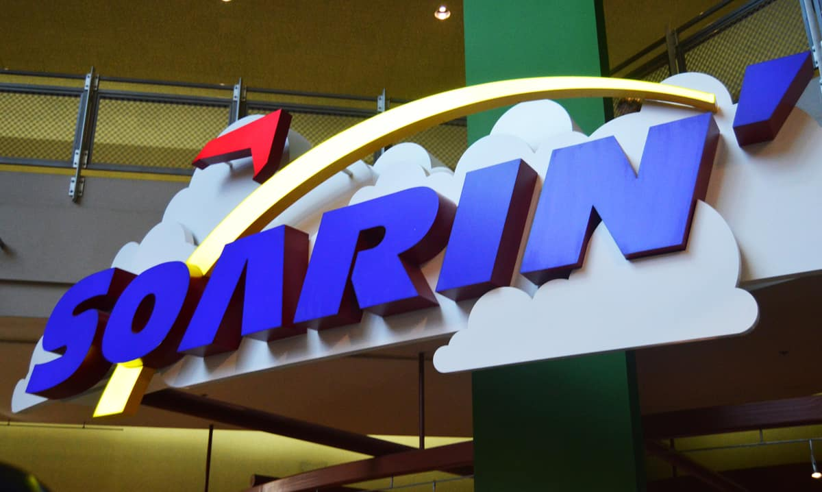 Epcot the Land Soarin Sign