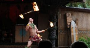 Spirit of Aloha Luau Dinner Show Fire Dance2