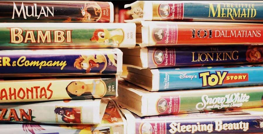 can you make a fortune by selling your old disney vhs