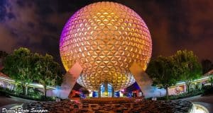 spaceship earth disney photo snapper