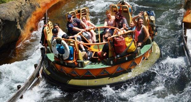 Animal Kingdom Kali River Rapids Raft Float 2