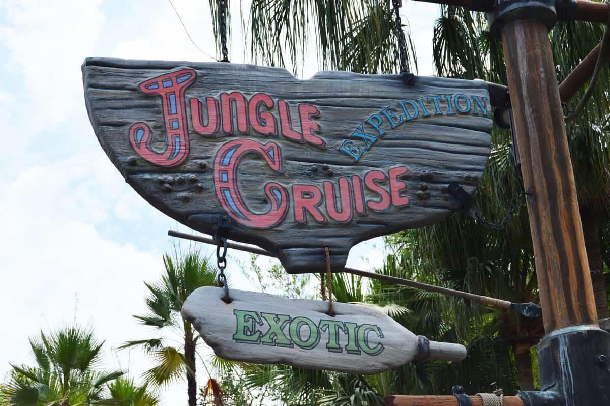 Magic Kingdom Jungle Cruise Sign 2