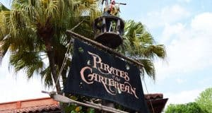 Magic Kingdom Pirates of the Caribbean Sign 3