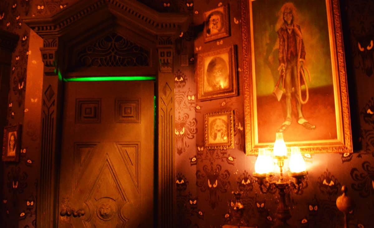 Haunted Mansion Dining Room Ride