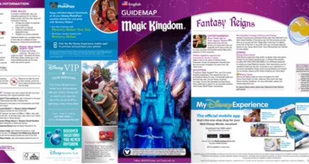 New Park Maps at Magic Kingdom in Walt Disney World - Disney Dining ...