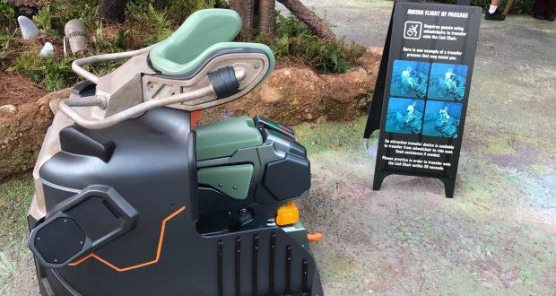 Test Seat Offered For Walt Disney World S Avatar Flight Of