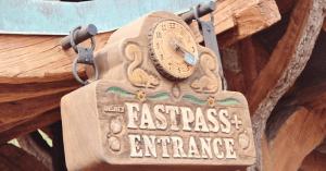 fast pass entrance snow white