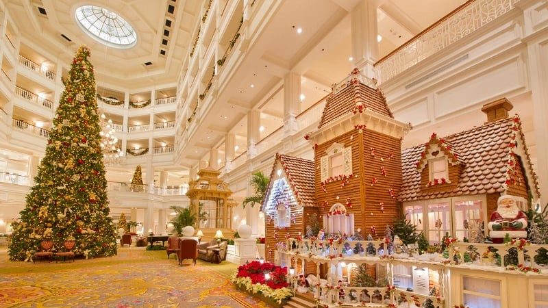 Gingerbread And Holiday Treats At Walt Disney Parks And