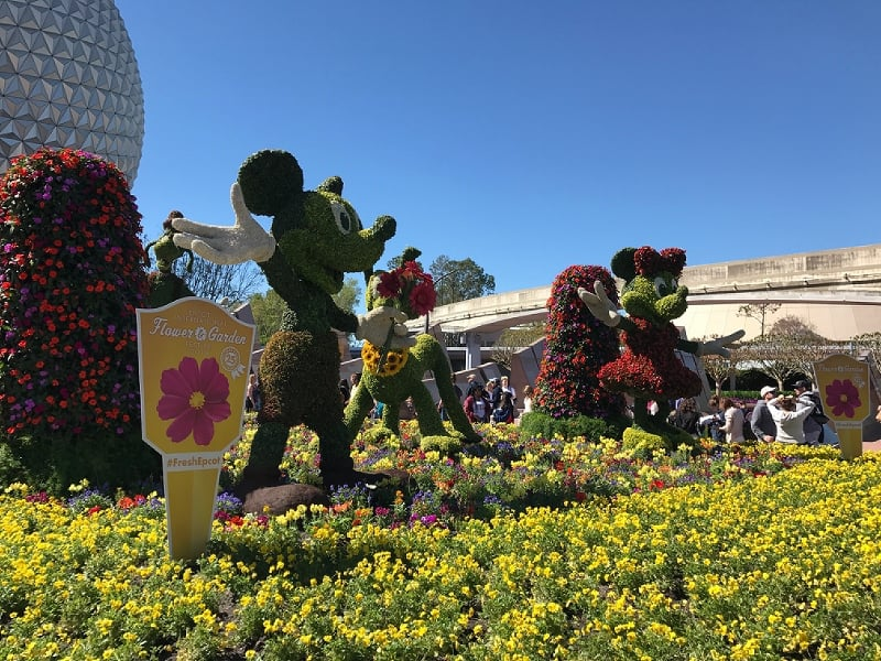 25th Annual Epcot International Flower Garden Festival Is Underway At Walt Disney World