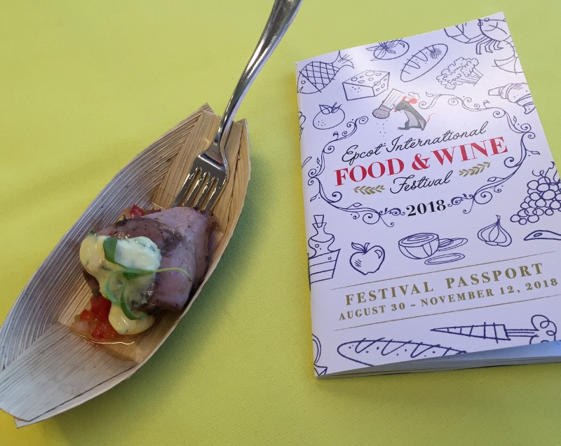 2018 Epcot International Food Wine Festival Media Event At Walt
