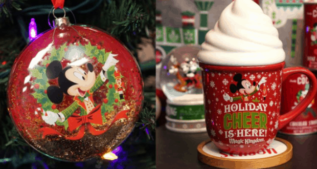 holiday merchandise for mickeys very merry christmas party at walt disney world disney dining information - College Christmas Party Decorations