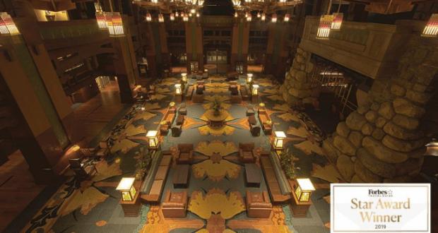Disney S Grand Californian Hotel Spa At Disneyland Resort Earns