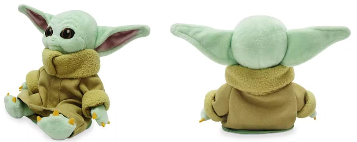 Disney Parks Star Wars Mandalorian The Child Baby Yoda Shoulder Plush Magnet New