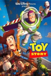woody buzz toy story poster