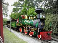 Lilly Belle locomotive train disney world