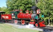Roy O. Disney locomotive train disney world