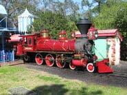 Walter E Disney locomotive disney world