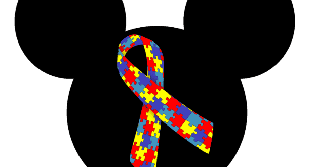 Autism awareness Mickey