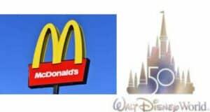 mcdonalds disney 50th anniversary