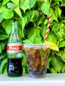 bottle diet coke and coke with straw disney springs